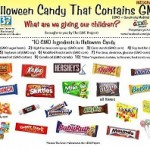 candy and GMO's for Halloween