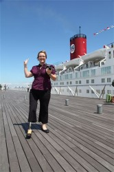Heather A. Bowser  77th Peace Boat Voyage 2012