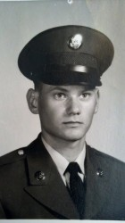 Rachel's father, Sergeant Louis Neal Hagenow, 173rd Airborne Brigade from March 1966 -1968.